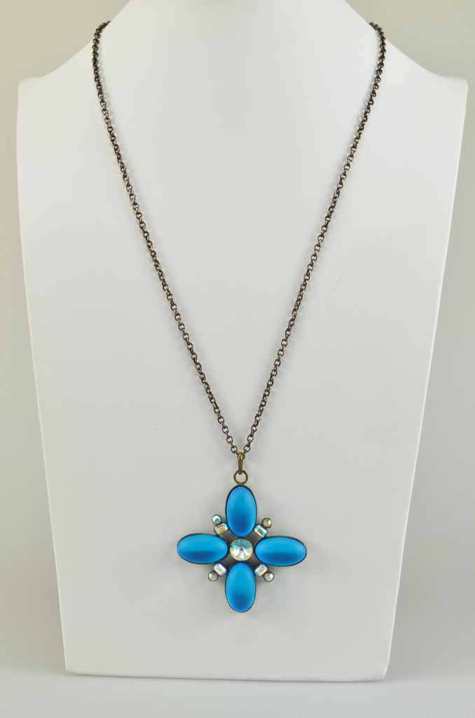 55210 Collier Strass Royal Star Yazzy's Fashion Accessories