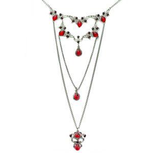 Layering Halskette Set mit Swarovski Kristallen