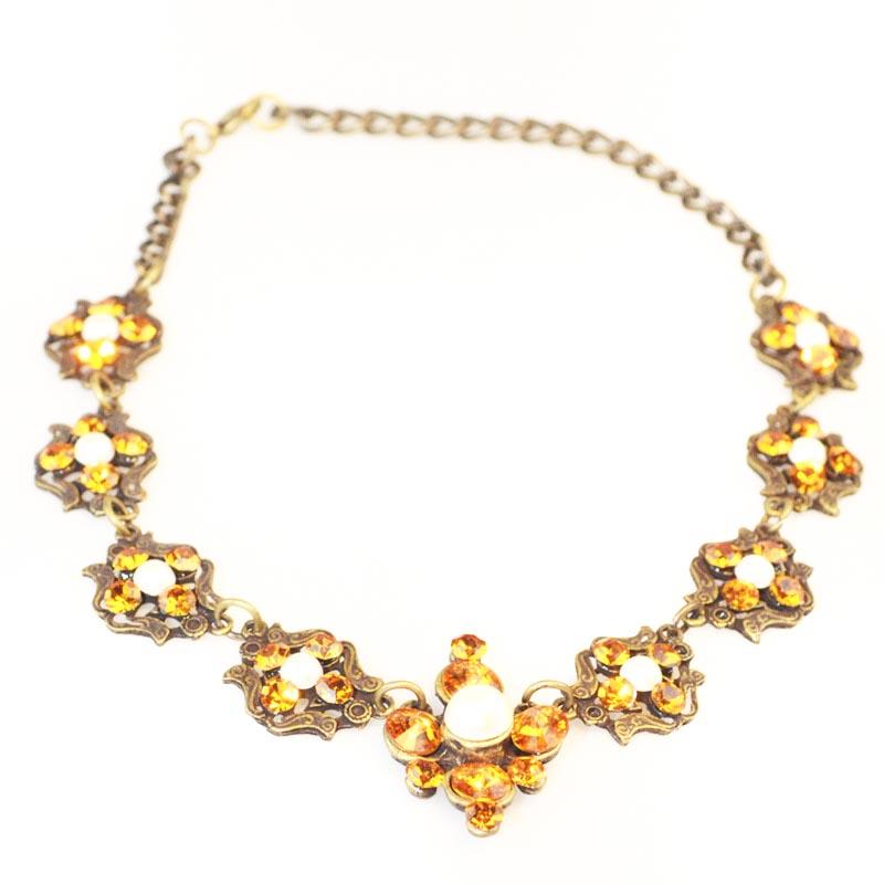 Swarovski set faux pearls Jewellery set bridal set
