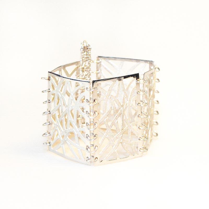 silver plated Filigrain Bracelet