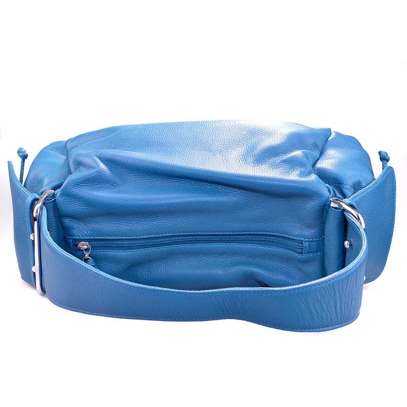 Handtas boven blauw