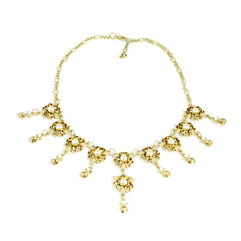 imperial necklace set Imperial Swarovski Necklace Set
