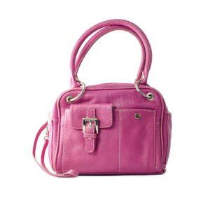 pink box handbag