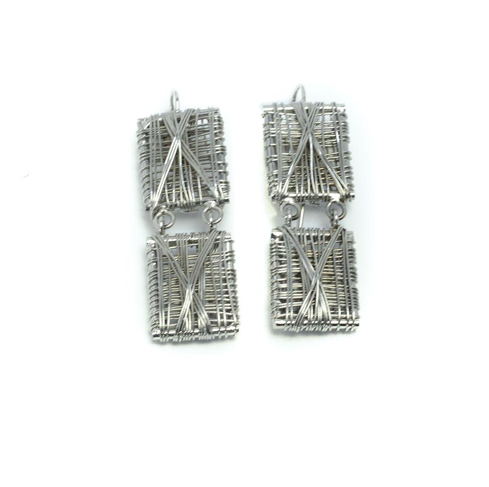 Bracelet Set Silver Plated earrings