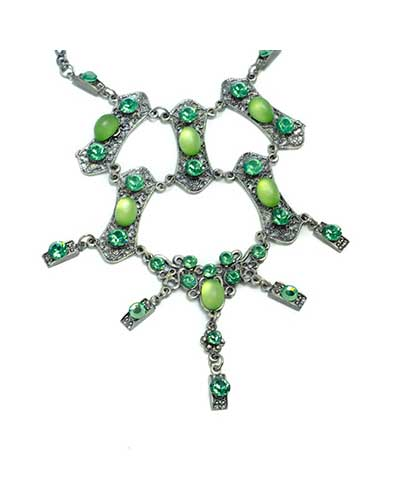 green spirit necklace