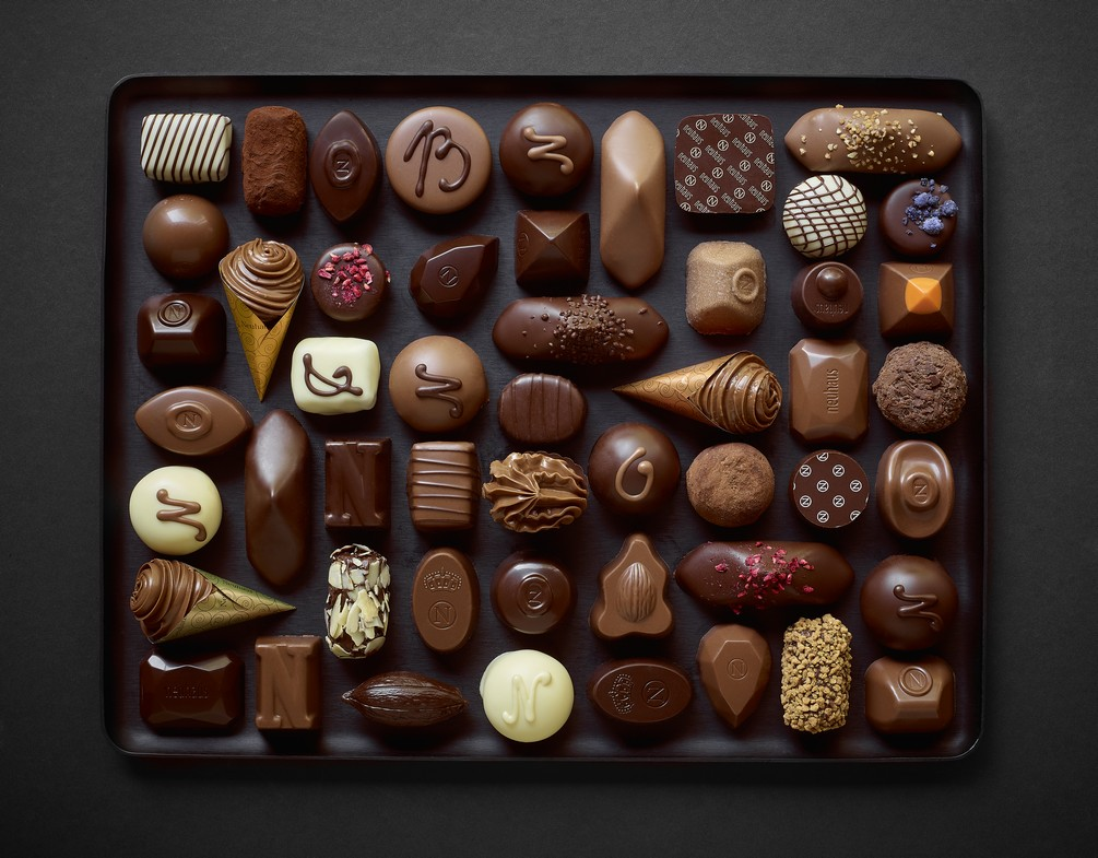 Good intentions for the new year Neuhaus Chocolate
