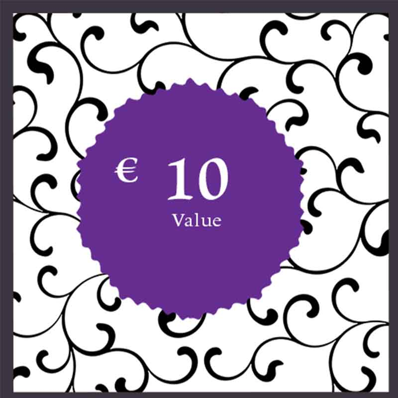 gift card € 10