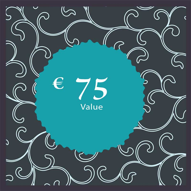 75 euro Gift Card € 75 Yazzy's Fashion Accessories