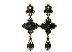 Black Statement Earrings