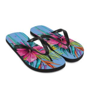 bloemen teenslippers flip flops sandalen
