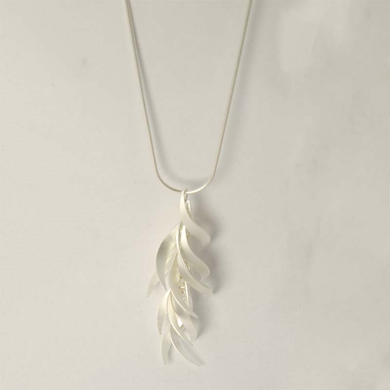 Fire & Ice halskette sterling silber