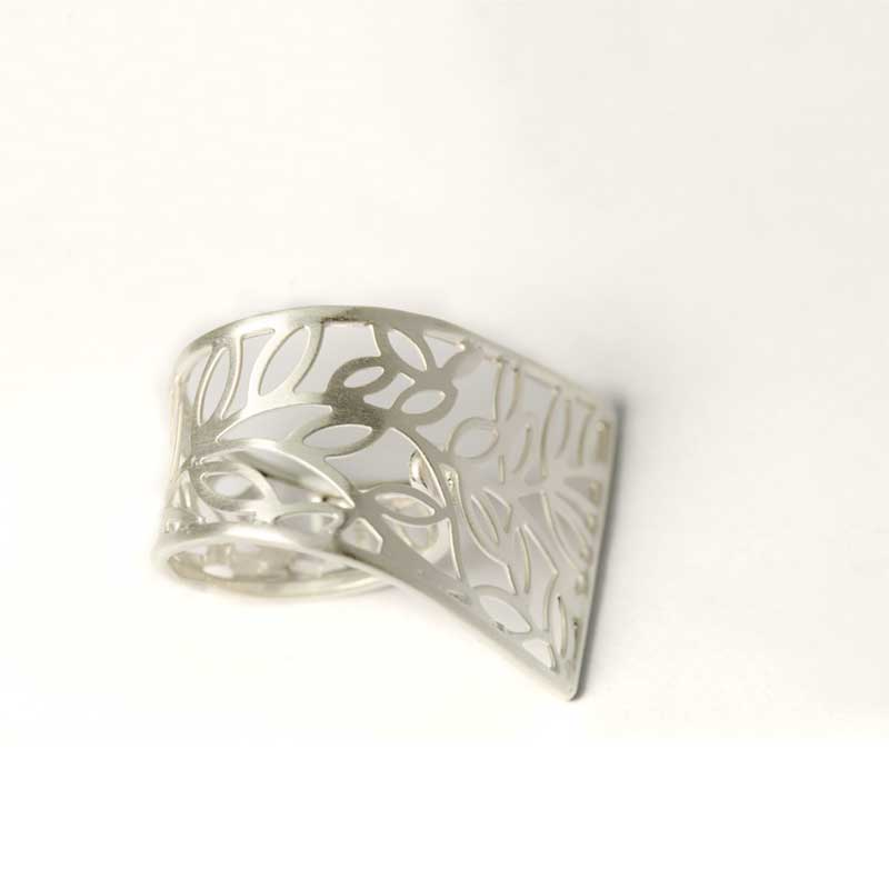 Zilveren Filigree Ring