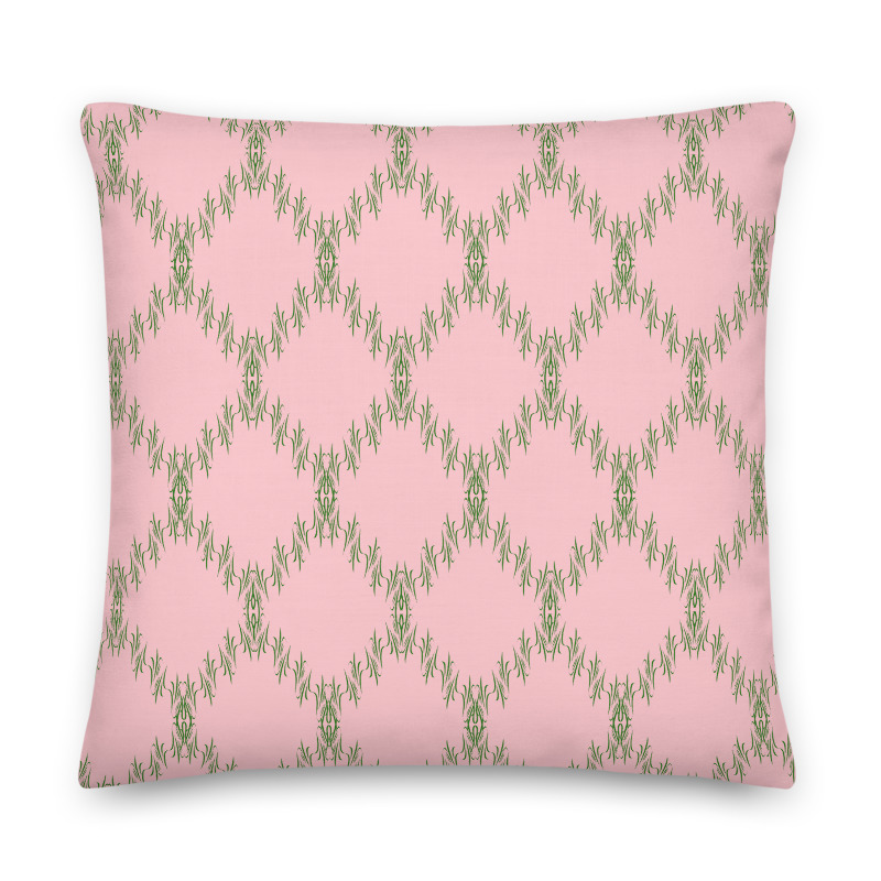 Premium Green Pink Cushions