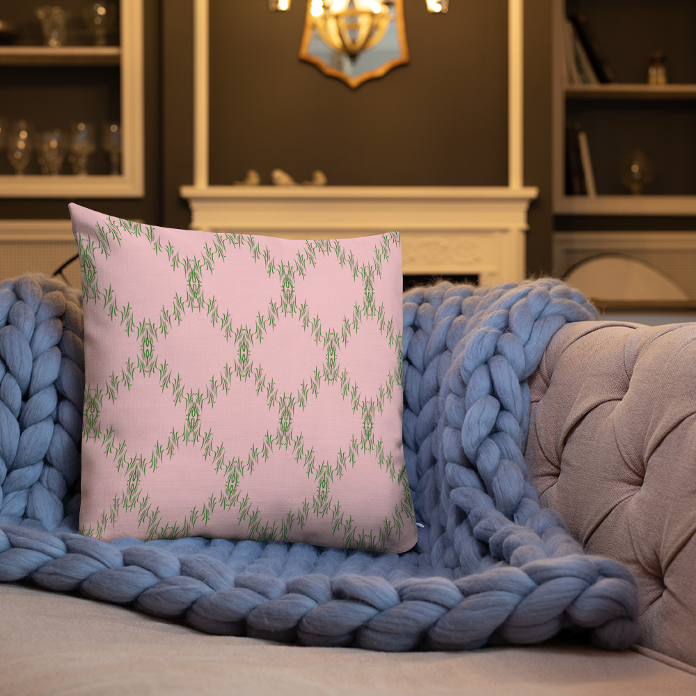 scatter cushions special Premium Green Pink Cushions Yazzy's Fashion Accessories