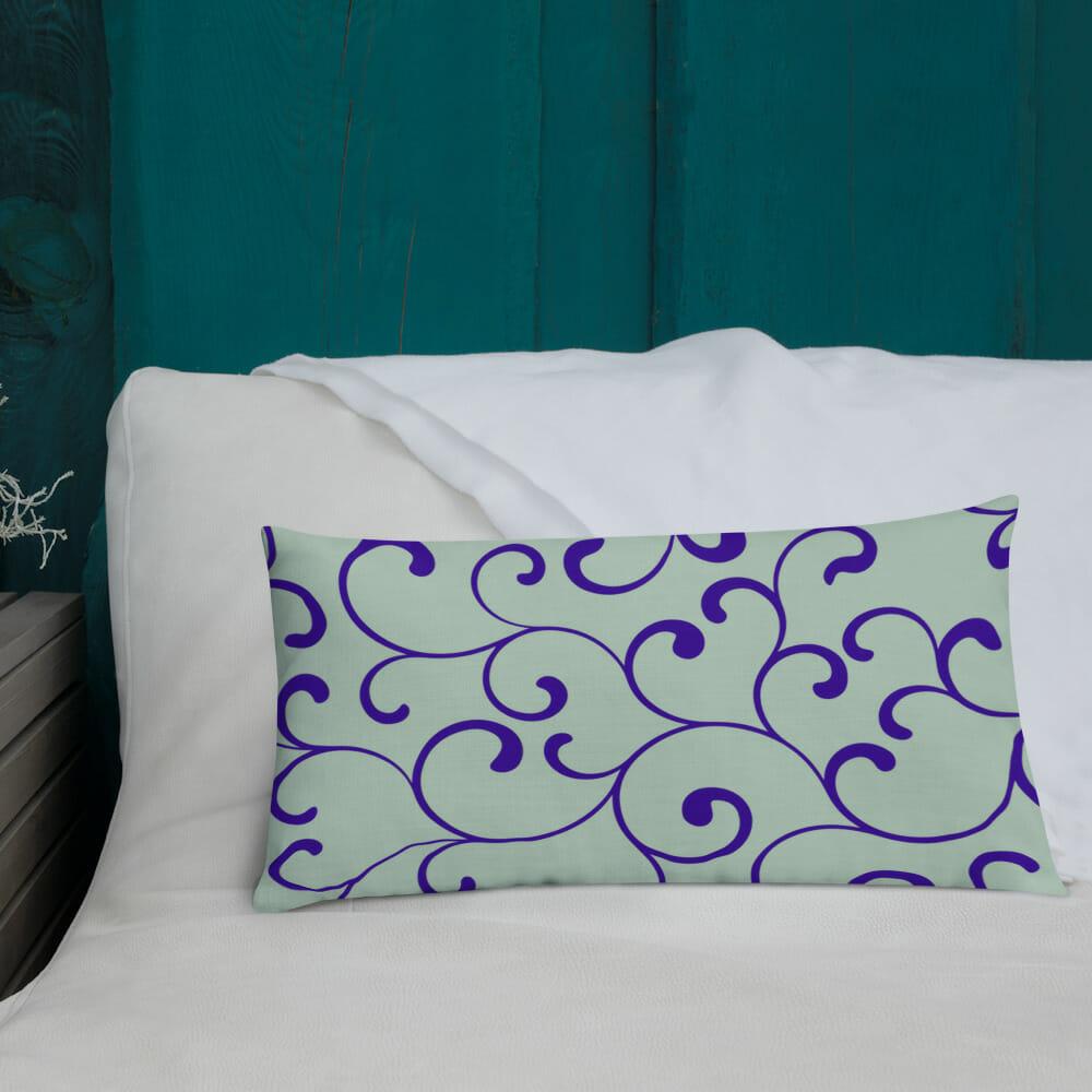 beautiful cushion special colour combination Prachtige Design Kussens